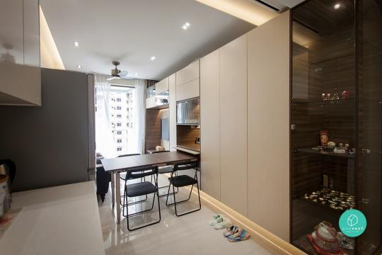 Interior designer: Space Atelier Area size: 42 sqm. Location: Sengkang  Square Cost of renovation: $22,000