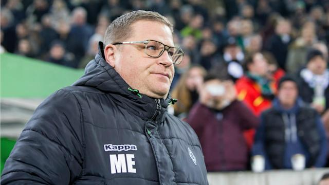 Borussia Monchengladbach sporting director Max Eberl has committed his future to the club by signing a new contract until June 2022.