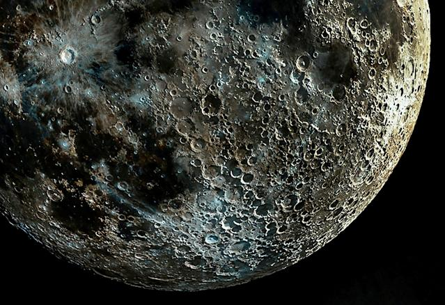 These shadows make the moon's surface clearer and features like craters more discernible. (SWNS)
