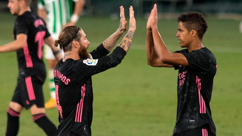 Real Betis Real Madrid Late Ramos Penalty Secures First Win Of Los Blancos LaLiga Defence