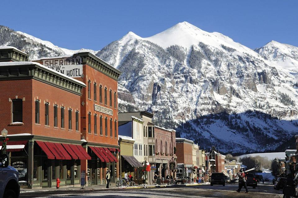 "<p>""<a href=""https://www.tripadvisor.com/Tourism-g33667-Telluride_Colorado-Vacations.html"" rel=""nofollow noopener"" target=""_blank"" data-ylk=""slk:The town of Telluride"" class=""link rapid-noclick-resp"">The town of Telluride</a> is just eight blocks wide and twelve blocks long,"" <a href=""https://www.visittelluride.com/plan/our-destination/"" rel=""nofollow noopener"" target=""_blank"" data-ylk=""slk:according to city's website"" class=""link rapid-noclick-resp"">according to city's website</a>, but that makes this Colorado paradise ideal for an intimate trip. It might be on the smaller side, but there's still plenty to do, including skiing, snowboarding, and sledding on the gorgeous mountains. If you want something a little more low-key, take a trip on the free gondola ride to get a bird's-eye-view of the stunning scenery.</p><p><a class=""link rapid-noclick-resp"" href=""https://go.redirectingat.com?id=74968X1596630&url=https%3A%2F%2Fwww.tripadvisor.com%2FTourism-g33667-Telluride_Colorado-Vacations.html&sref=https%3A%2F%2Fwww.redbookmag.com%2Flife%2Fg35212951%2Fromantic-weekend-getaways%2F"" rel=""nofollow noopener"" target=""_blank"" data-ylk=""slk:PLAN YOUR TRIP"">PLAN YOUR TRIP</a></p>"
