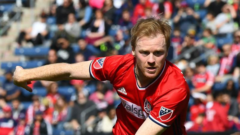 Dax McCarty MLS Chicago Fire 04012017