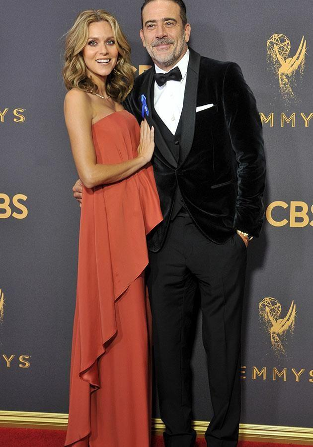 Hilarie, pictured here with her husband Walking Dead star Jeffrey Dean Morgan, also took to Twitter to address the incident. Source: Getty