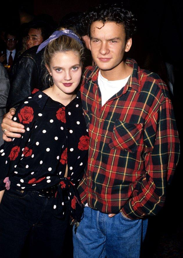 "More than 20 years ago, Drew Barrymore dated Balthazar Getty, actor and great-grandson of oil mogul John Paul Getty. The two had a short, teenage fling right around the time he starred in ""Young Guns II"" and she had finished up the forgettable ""See You in the Morning."""