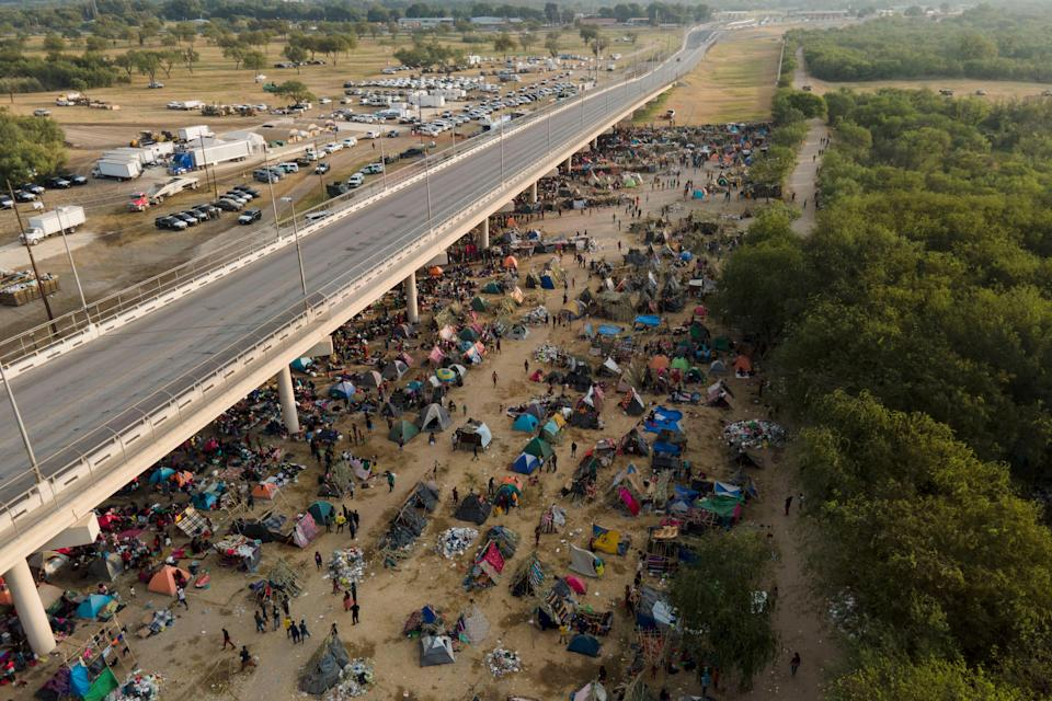 Mexico US Border Migrants (Copyright 2021 The Associated Press. All rights reserved.)