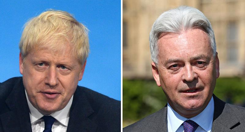 Sir Alan Duncan, a vocal critic of Boris Johnson, has quit the government (PA Images)