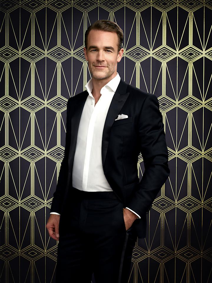 James Van Der Beek, whose odds are 9-2, is not entirely new to <em>DWTS</em>. When he played a heightened version of himself on <em>Don't Trust the B**** in Apt. 23</em>, his character competed on the ABC dancing competition. (Photo: ABC/Justin Stephens)