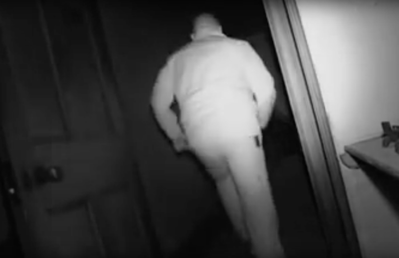 They chase the ghost but could not find an explanation. Photo: Youtube