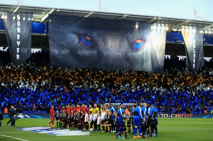 A loud and proud King Power stadium