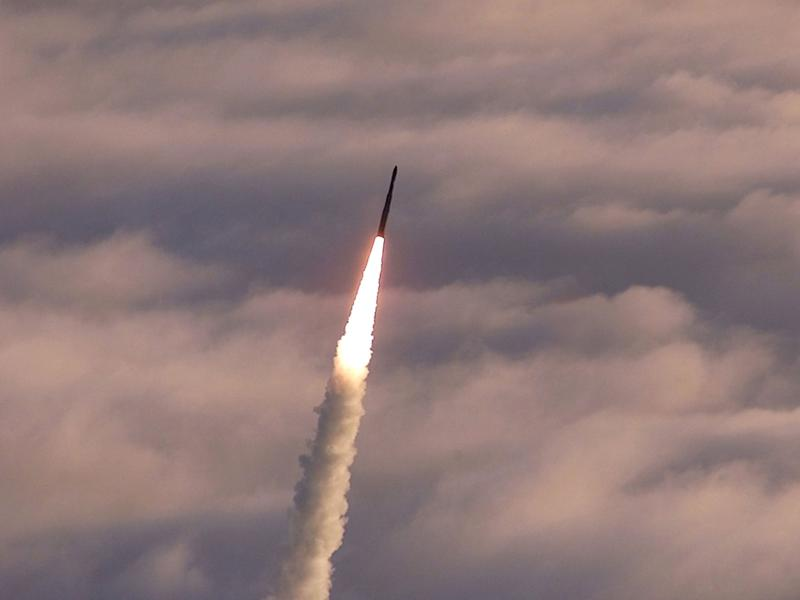 US tests nuclear-capable missile with the range to strike North Korea