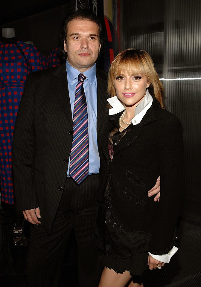 "Brittany Murphy enjoyed the festivities with hubby Simon Monjack. John Shearer/<a href=""http://www.wireimage.com"" target=""new"">WireImage.com</a> - March 19, 2008"
