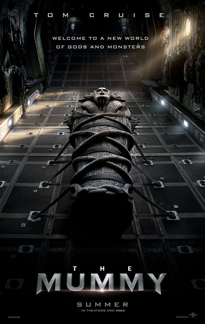 First 'The Mummy' poster - Credit: Universal