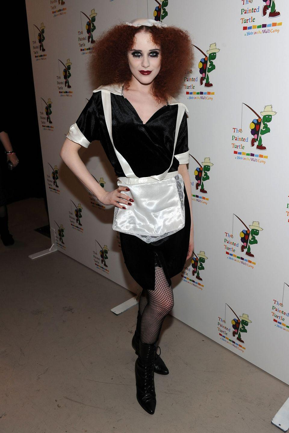<p>Evan Rachel Wood is Magenta from <em>The Rocky Horror Picture Show</em>.</p>