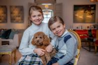 """<p>Princess Victoria and Prince Daniel's children have an adorable bond, whether they're playing with their family dog Rio or helping their mom with <a href=""""https://people.com/royals/swedish-royals-beekeeping-princess-victoria-princess-estelle-prince-oscar/"""" rel=""""nofollow noopener"""" target=""""_blank"""" data-ylk=""""slk:beekeeping"""" class=""""link rapid-noclick-resp"""">beekeeping</a>.</p>"""