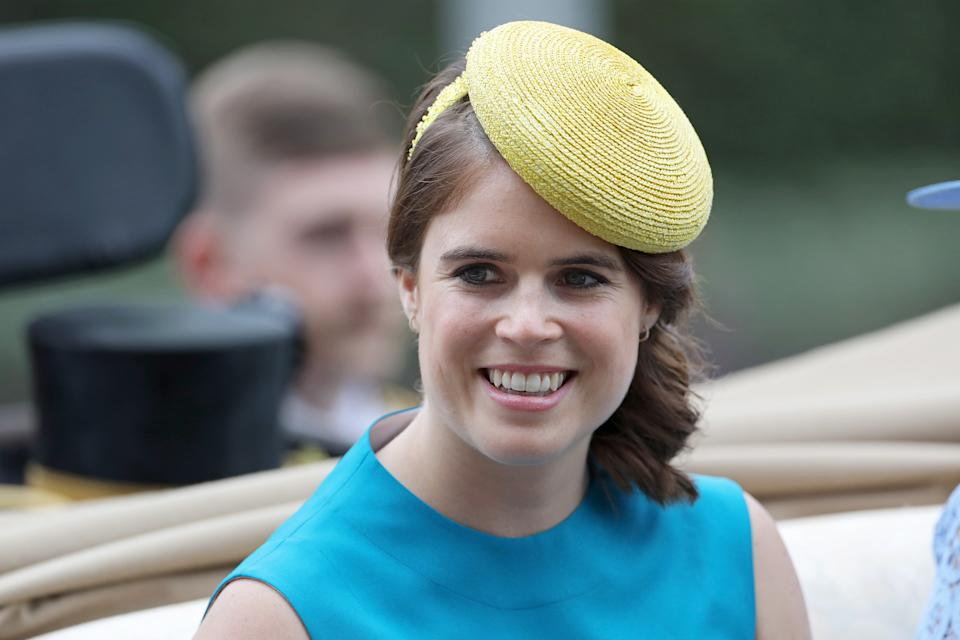 Princess Eugenie on day 1 of Royal Ascot at Ascot Racecourse on June 18, 2019 in Ascot,