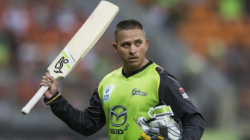 Sydney Thunder BBL captain Shane Watson says Usman Khawaja (pic) is one of the world's best batsmen.