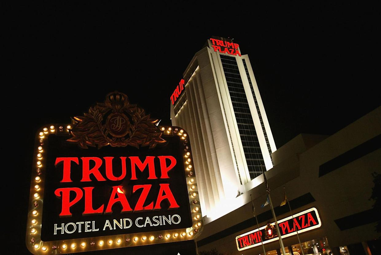 The Trump Plaza hotel and casino in Atlantic City, N.J. (Photo: Craig Allen/Getty Images)