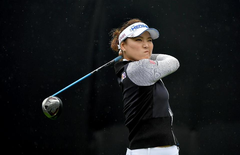 South Korea's Ryo So-yeon -- shown here at the LPGA KIA CLASSIC last week in Carlsbad, California -- says she too wants to move on from the Lexi Thompson incident (AFP Photo/DONALD MIRALLE)