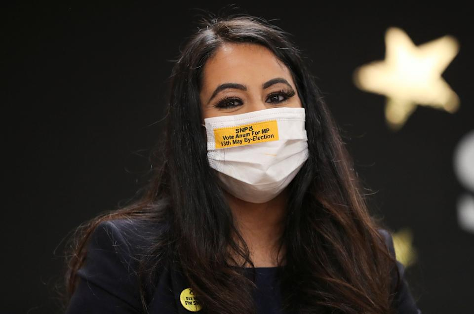 <strong>SNP MP Anum Qaisar-Javed</strong> (Photo: Pool via Getty Images)