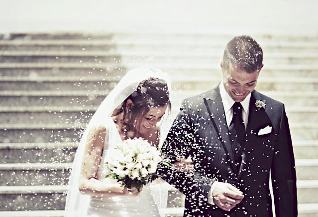 Weddings and other ceremonies have been banned to limit the spread of coronavirus. (Getty Images)