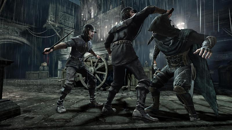 "This photo provided by Square Enix shows a scene from the video game, ""Thief"". (AP Photo/Square Enix)"