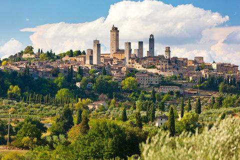 San Gimignano - Credit: GETTY