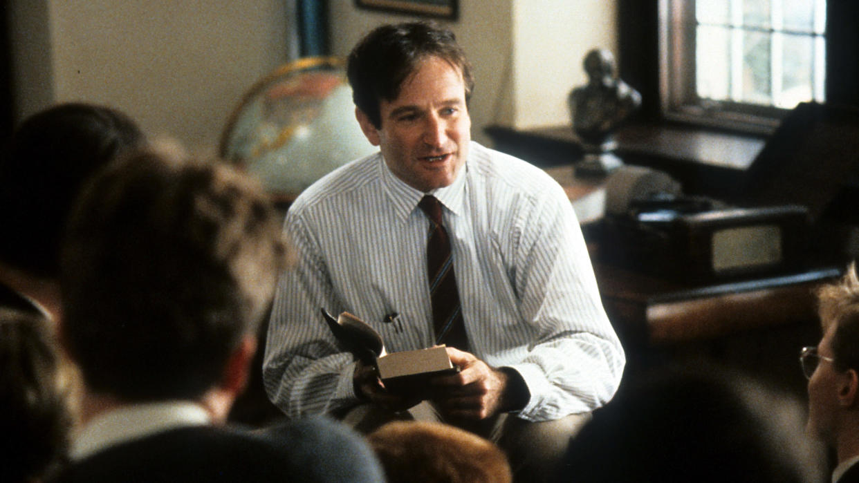 'Dead Poets Society' earned Robin Williams an Oscar nomination. (Touchstone Pictures/Getty Images)