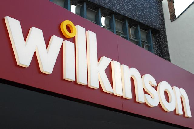 Wilkinson, now rebranded as Wilko, has announced controversial reforms to sick pay. (PA)