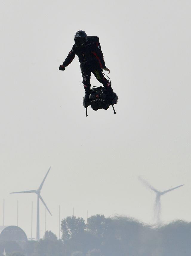 French 'flyboard' daredevil to make new Channel bid