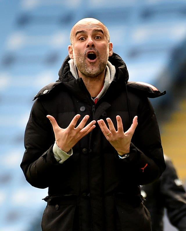 Guardiola also did not like the Super League proposals
