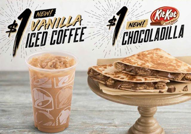 Taco Bell releases chocolate candy quesadilla
