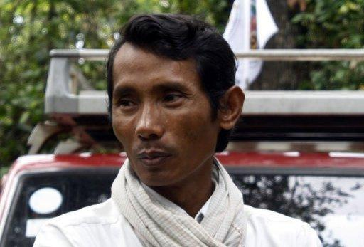 Cambodian activist Chhut Vuthy, pictured, was gunned down on April 26 as he tried to expose illegal logging