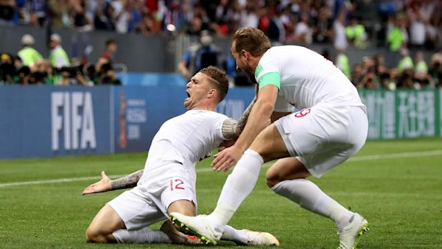 Kieran Trippier's early goal in the semi-final against Croatia gave the Three Lions their ninth set-piece strike of the tournament