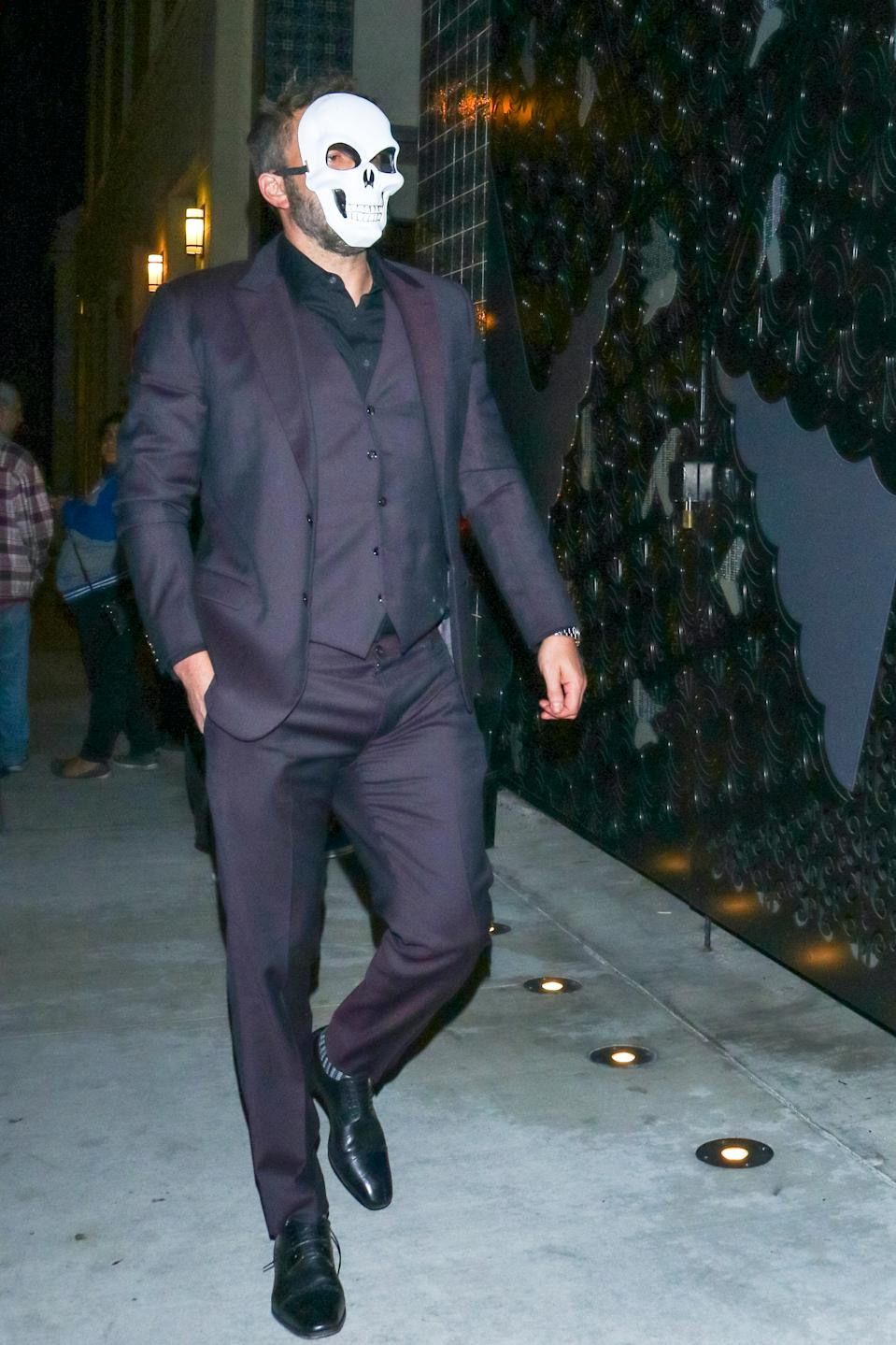 Ben Affleck is seen on October 27, 2019 in Los Angeles.  (Photo: BG027/Bauer-Griffin/GC Images/Getty Images)