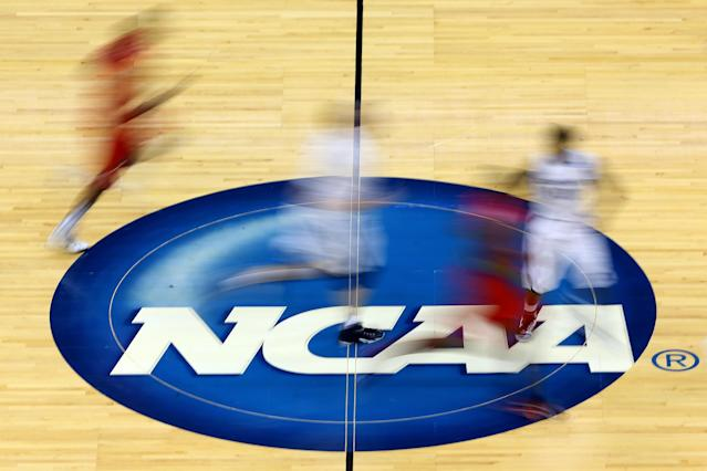 The NCAA announced on Thursday that it has formed a team of experts that will study the possible effects of widespread sports gambling. (Getty Images)