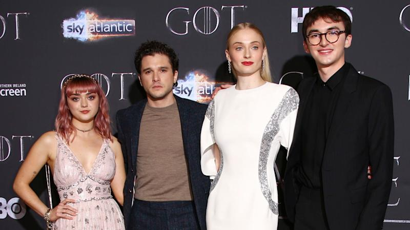 We Cant Stop Watching The Game Of Thrones Cast React To