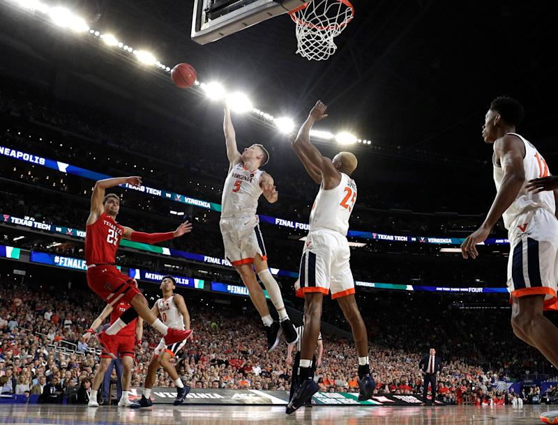 Virginia beats Texas Tech in OT thriller to win 1st national title
