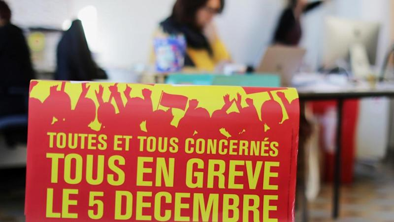 Why are French people striking on 5 December?