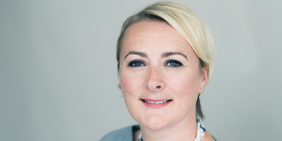 39) Charlotte Duerden, managing director UK, American Express. Photo: American Express