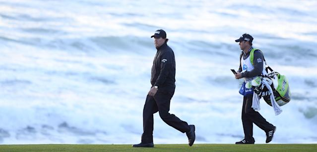 Phil Mickelson won the event for a record fifth time on Monday, and now has made more than $7 million for his career at the AT&T; Pebble Beach Pro-Am
