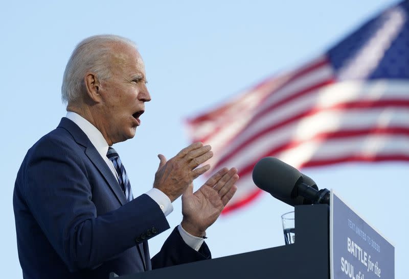 Biden says next presidential debate should be called off if Trump still has COVID
