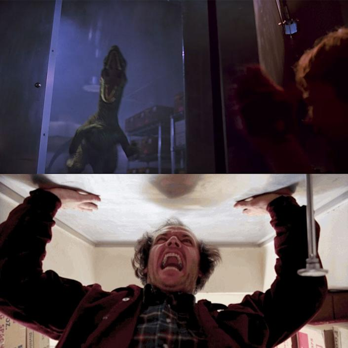 """Jurassic Park"" directly references ""The Shining."""