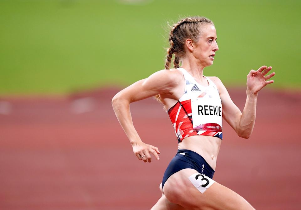 Reekie reached the 800m final with ease (Mike Egerton/PA) (PA Wire)