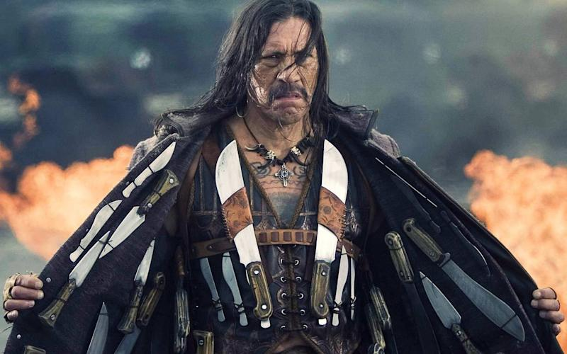 Danny Trejo saves baby from overturned car