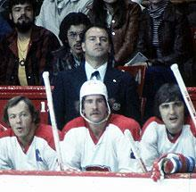 Scotty Bowman won four consecutive Stanley Cups with the Canadiens and mostly spoke English