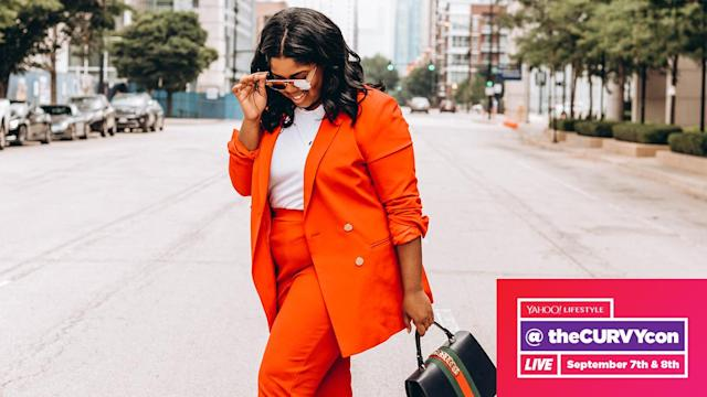 Plus-size blogger Hayet Rida will be on a panel at theCURVYcon, a three-day event in New York City, Sept. 6-8. (Photo: Courtesy of Hayet Rida)