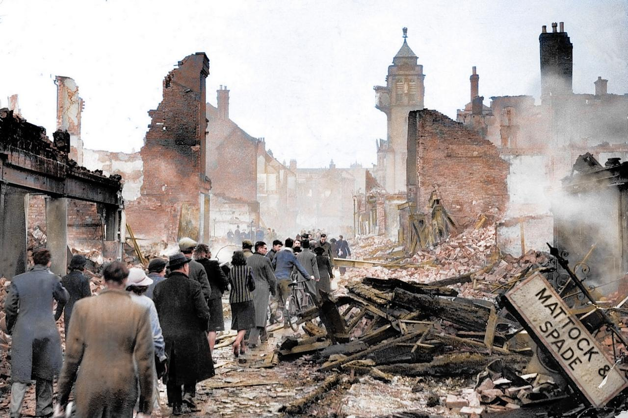 <p>From 7 September 1940, London was bombed by the Luftwaffe for 56 out of the following 57 nights (Royston Leonard/mediadrumworld.com) </p>