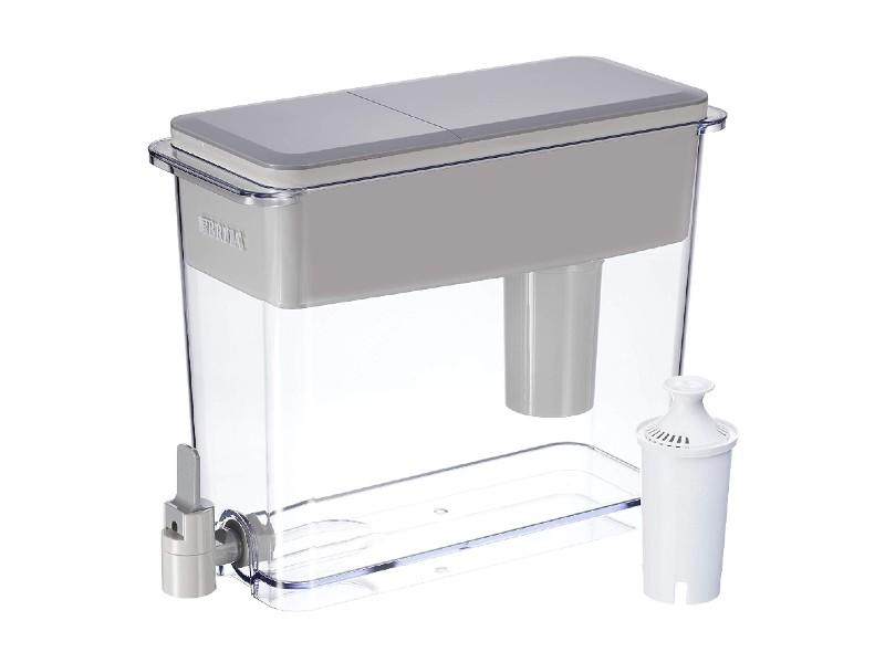 Brita 18 Cup UltraMax water dispenser with 1 filter. (Photo: Amazon)