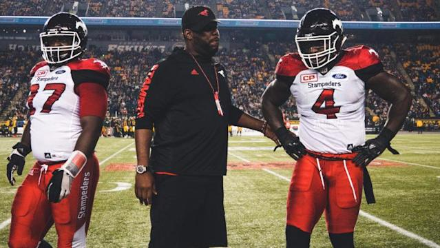 DeVone Claybrooks will have to wait for his first opportunity to be a head coach, something CFL.ca's Pat Steinberg says could pay off for him in the big picture.