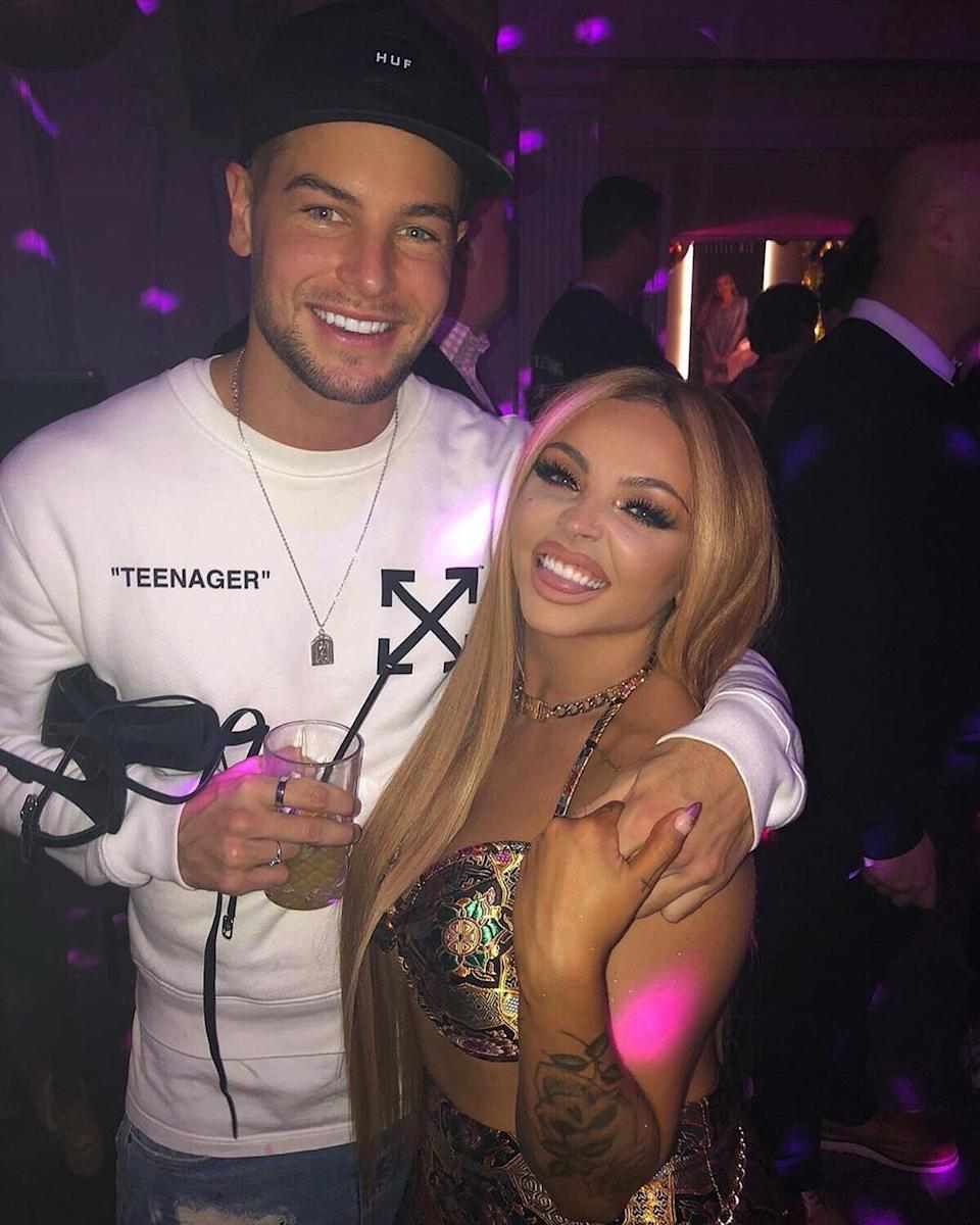 Chris Hughes and Jesy Nelson are now dating (Credit: Instagram)